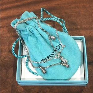 Tiffany and Co Teardrop necklace
